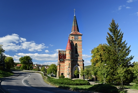 cz: Beautiful Church of Saints Cyril and Methodius