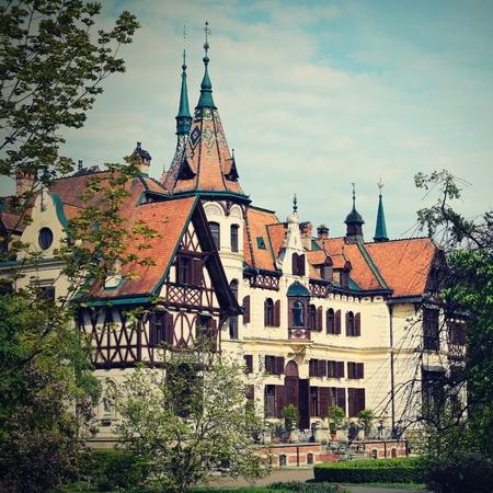 fabulous: Fabulous Castle Lesna in Zlin, Czech Republic