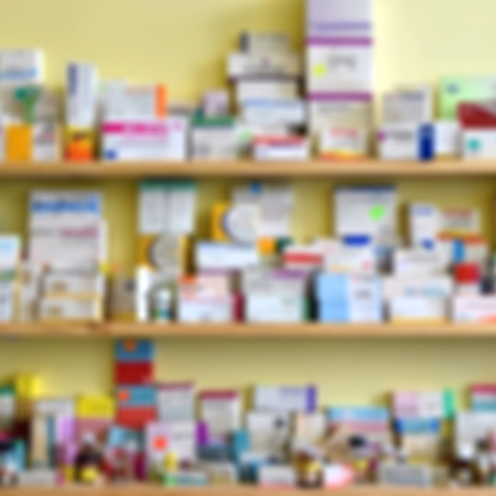 medical distribution: Drug supplies in the pharmacy