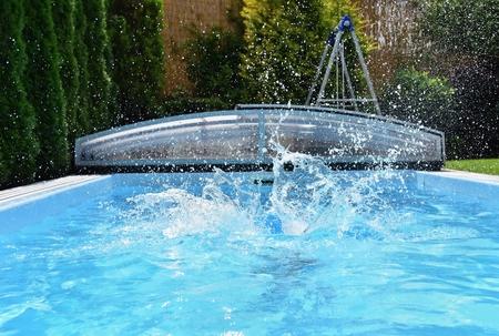 Pool Splash Cannonball