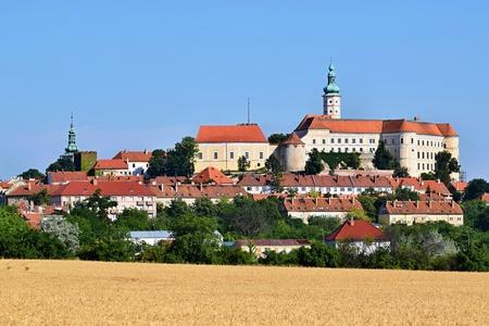 moravia: Castle of Mikulov, South Moravia. Czech Republic.