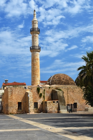 S mosque in greece on the island of Crete Stock fotó - 85556893