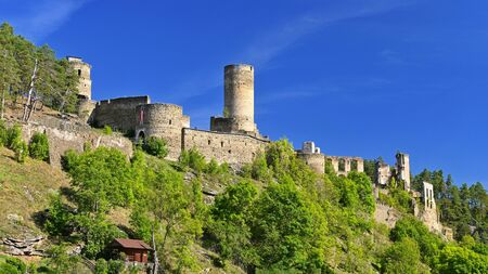 Beautiful old castle - ruins of Kollmitz in Lower Austria.