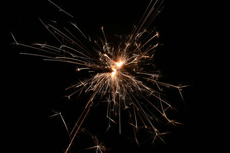 Sparkler - beautiful abstract background. Concept for Christmas and Happy New Year 2021. 스톡 콘텐츠