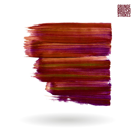 Brush stroke and texture. Vector design. Иллюстрация