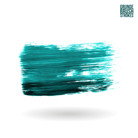 pictured: Brush stroke and texture. Vector design. Illustration