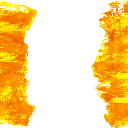 brushstroke: Brushstroke and texture. Vector design. Underline and border. Illustration