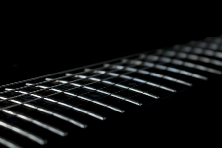 Guitar fingerboard photo