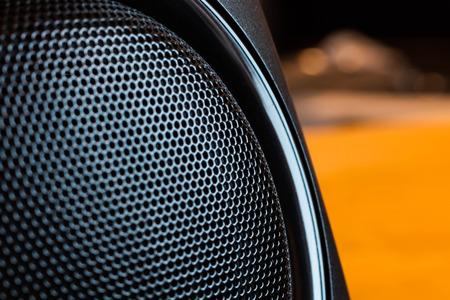 hi-fi music audio speaker membreane photo