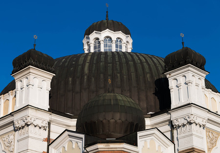 sephardic: Sofia Synagogue was officially opened in 1909. It is the largest of the Balkan Peninsula and the third largest in Europe