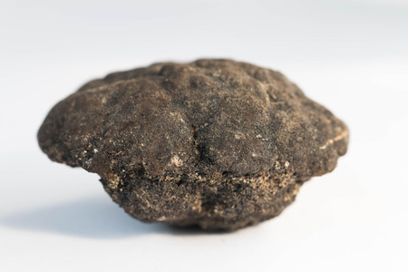 Polymetallic nodules from 5000m depth of Pacific ocean photo