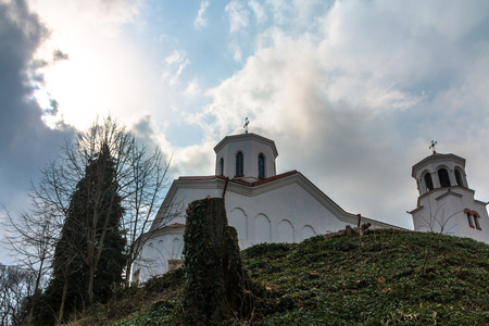 attacked: Klisura Monastery was founded in 1240. In 15c. monastery repeatedly attacked and destroyed by the Turks. In close to its current form was revived in 1869.