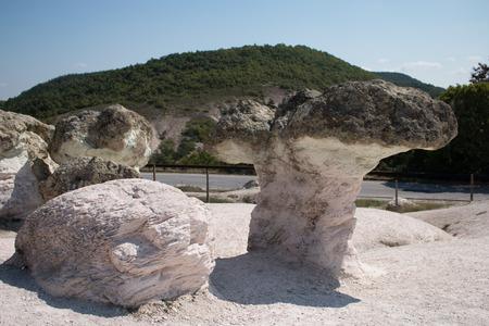 phenomenon: Natural phenomenon Stone mushrooms, Bulgaria