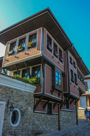 european culture: Old town, views of Plovdiv- The European Capital of Culture 2019
