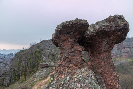 bulwark: the rocks of Belogradchik, Bulgaria