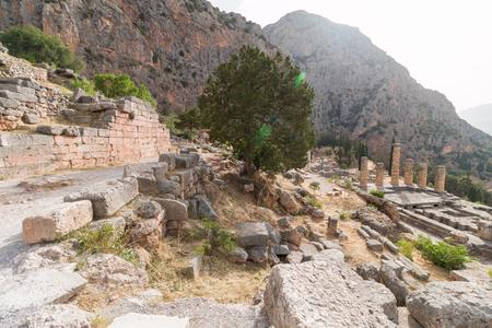 delphi: Archaeological Site of Delphi, Greece Editorial
