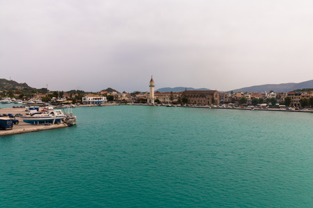 ionio: Zakynthos island at the ionian sea in Greece Stock Photo