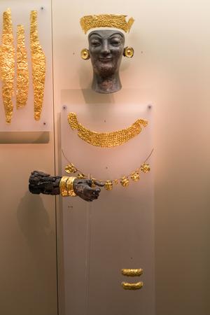 delphi: Museum of Delphi, Greece Editorial