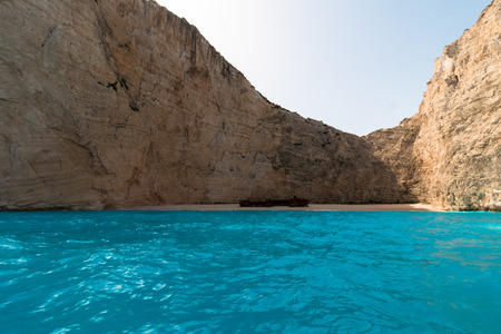 shipwreck: Navagio Beach with shipwreck in Zakynthos, Greece