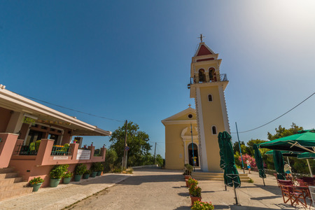ionio: Traditional church at Bochali area of Zakynthos island in Greece