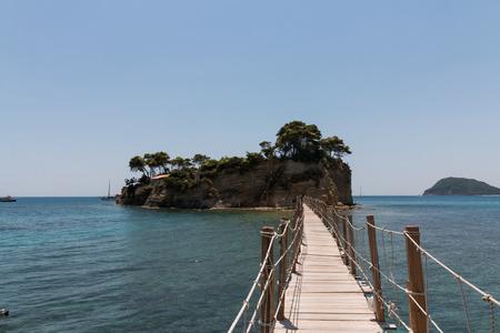 cameo: Cameo (Agios Sostis), small island in Zakynthos, Greece Stock Photo