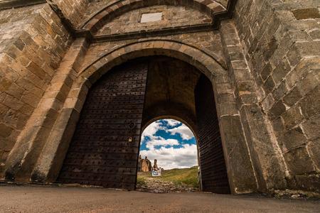 The fortress door