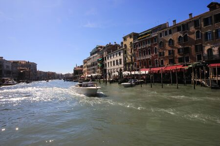 Views from the Grand Canal, Venice, Italy Standard-Bild - 131712600