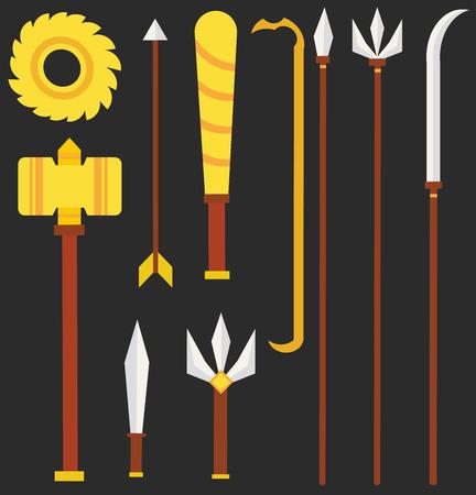 halberd: weapon Tossakan Illustration