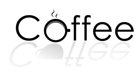 logo coffee text graphic design vector illustrations Illustration