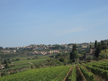 Toscaanse heuvels Stockfoto - 78154714