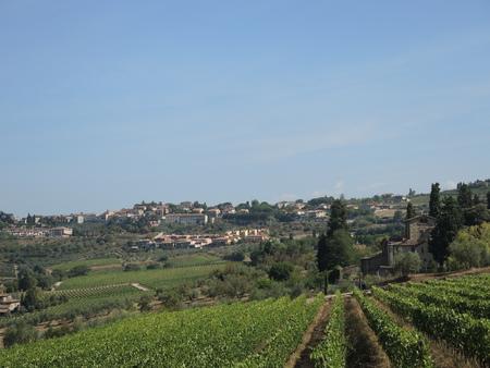 Tuscan hills Banco de Imagens