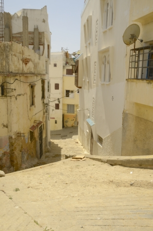 The old part of Tangier, Morocco  photo