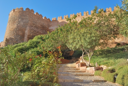 Alcazaba in Almeria, Spain Stock Photo - 16854459