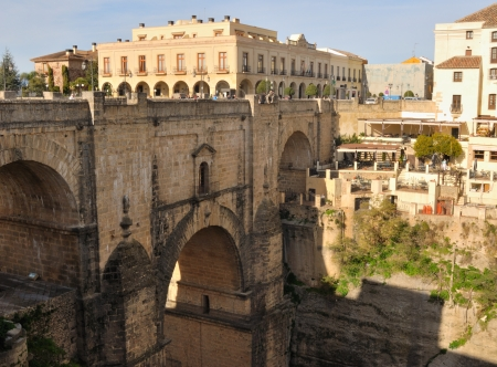 New bridge in Ronda, Spain photo