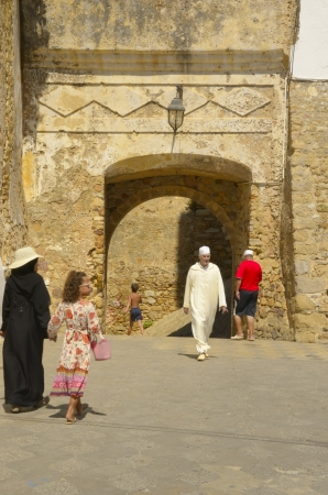 Gate of the Medina, Asilah (Morocco) 28 August 2012