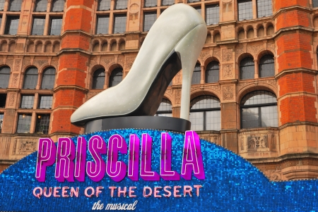 Musical Priscilla, Queen of the Desert on at the Palace Theatre,  London, United Kingdom, August 27, 2009.