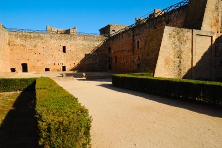 huelva: Medieval castle located in Niebla,  a little village  of Huelva, Spain