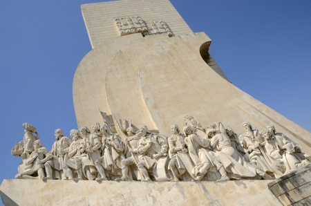 discoveries: Monument to the Discoveries is a monument on the northern bank of the Tagus River estuary, in the civil parish of Belem, Lisbon