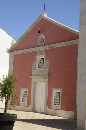 chappel: Little chappel in Cascais, Portugal Stock Photo