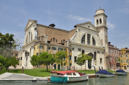 sestiere: San Trovaso is a church in the sestiere or neighborhood of Dorsoduro in Venice, northern Italy. Editorial