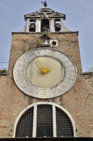 distric: San Giacomo di Rialto church in the distric of San Polo, Venice, northern Italy.