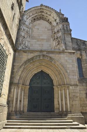 guimaraes: Church of Our Lady of Oliveira in Oliveira Square, Guimaraes, Portugal. Stock Photo
