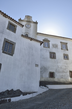 historical building: Historical building in  the medieval village of Marvao, Portugal