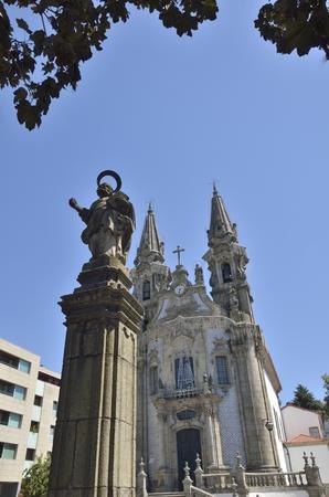 Church of Saint Gualter in Guimaraes, Portugal.