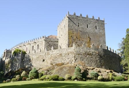 Château de Soutomaior, un château médiéval situé dans la province de Pontevedra, Galice, Espagne. Éditoriale