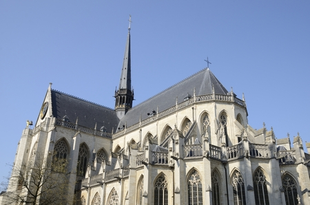 Saint Peter Church  in the city of Leuven, the capital of the province of Flemish Brabant in Belgium. Stockfoto
