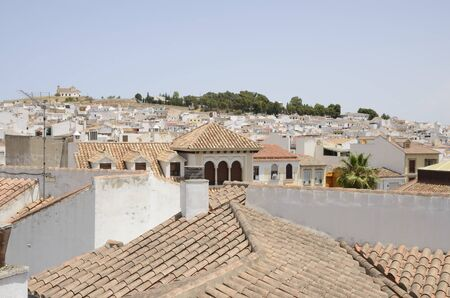 Sight of Antequera, a city of the province of Malaga, Andalusia, Spain.