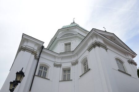 Saint Kazimierz Church at New Town of Warsaw, Poland.