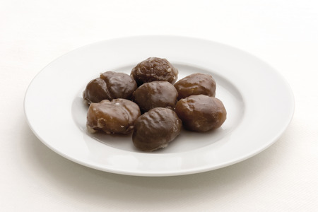 candied: Candied chestnuts