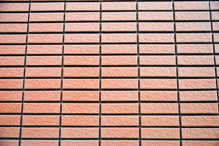 Orange brick wall Stock Photo - 7993136